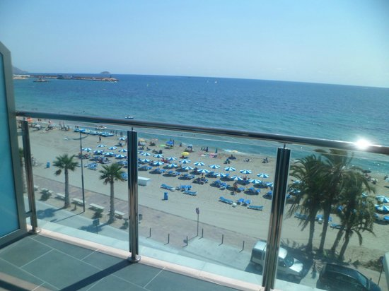 Allon Mediterrania Hotel : View from the room