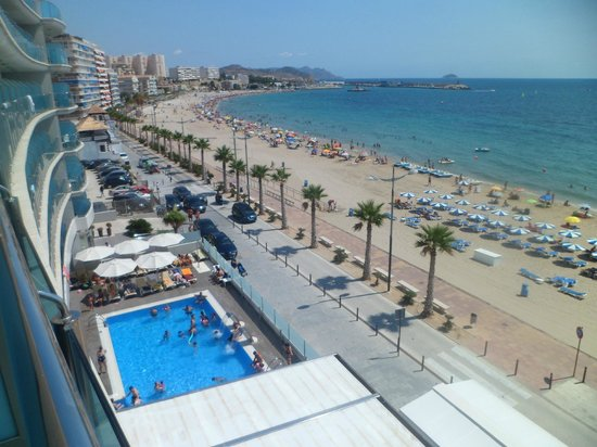 Allon Mediterrania Hotel: View from the room