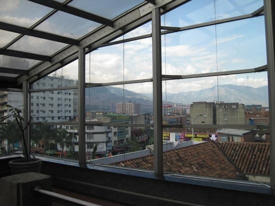 Musée d'Antioquia : Inside looking out