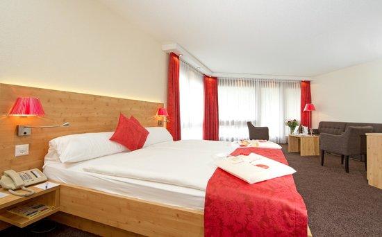 Central Sporthotel Davos: Bel Etage Doppelzimmer
