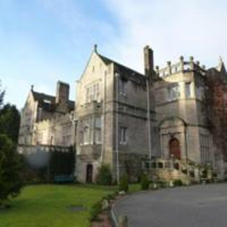 Kildrummy Castle Hotel: The hotel from its extensive, well kempt grounds