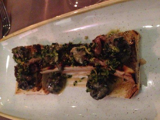 Table 9 : Escargot and bone marrow