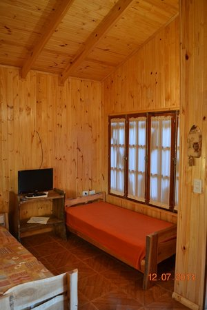 Cabanas Ybype: Sala estar