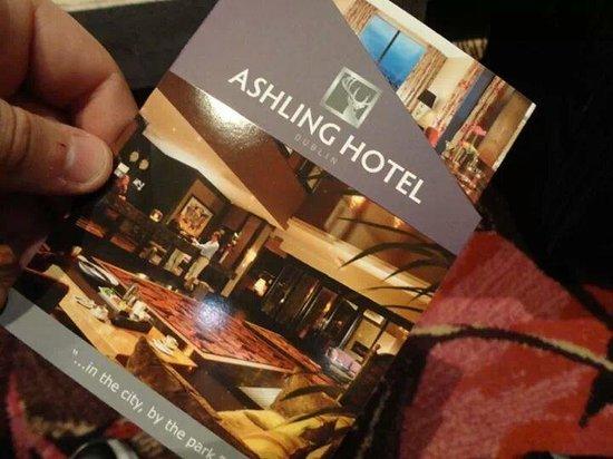 Ashling Hotel: Pamphlet