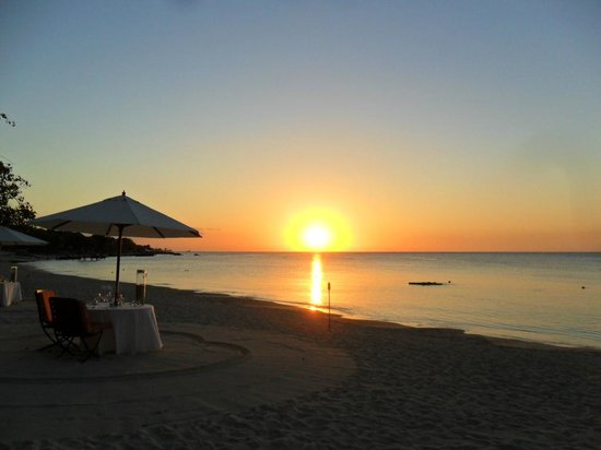 Maritim Resort & Spa Mauritius : Sunset from La Maree