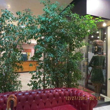 EuroHotel: recepção