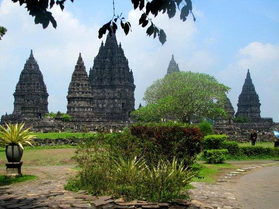 Prambanan-Tempelanlage: Prambanan view