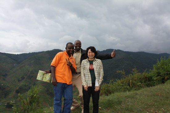 Bwindi Impenetrable National Park : Bwindi Forest from  Egagi Lodge