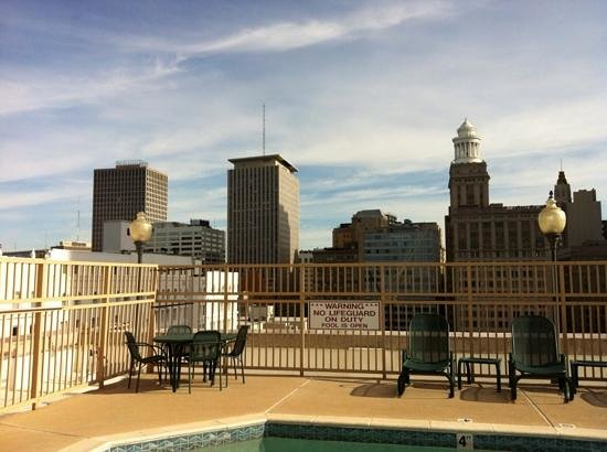 Drury Inn & Suites New Orleans: drury inn and suites rooftop pool area