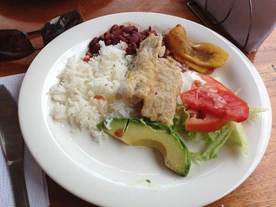 Manuel Antonio Expeditions: Delicious lunch!