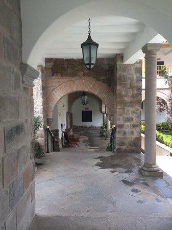 Belmond Palacio Nazarenas : hotel grounds...beautiful
