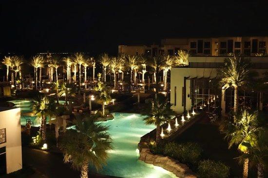 Park Hyatt Abu Dhabi Hotel & Villas : vom Balkon