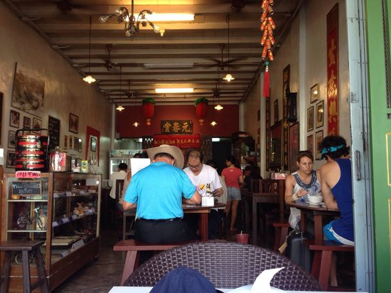 Kopitiam by Wilai: Kopitiam look from the front table