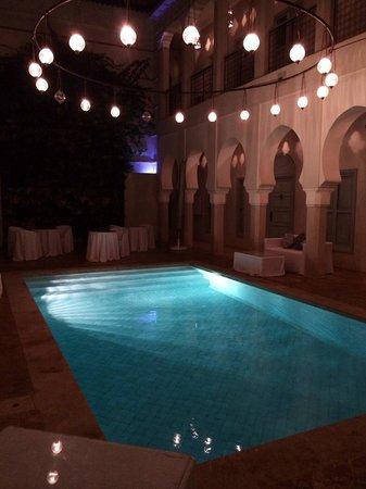 Riad Nashira & Spa: Piscina nel secondo atrio