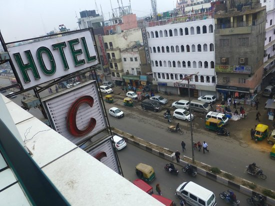 Hotel City Star: view from roof terrace
