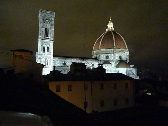 Hotel Brunelleschi: View from Pool Suite
