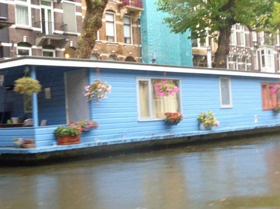 El Amstel: Casa barco Rio Amstel