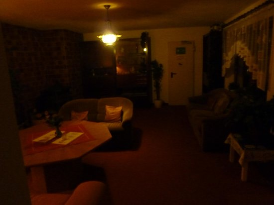 Hotel Waldhaus: Aufenthaltsraum