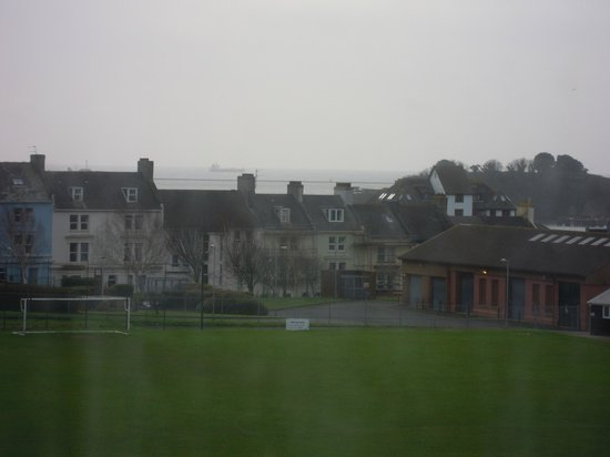 Best Western Duke Of Cornwall Hotel: Plymouth Sound from Bedroom Window