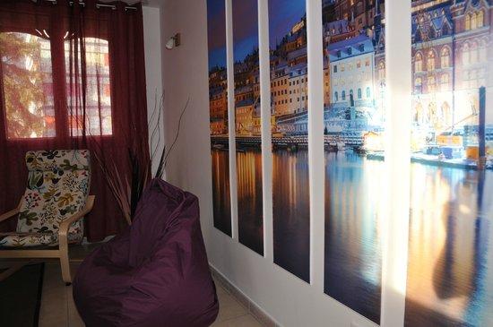 Best Western Hotel Eurociel : appart_suede_salon