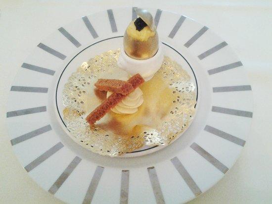 Hotel-Restaurant Le Jambon: Brouillade à la coque