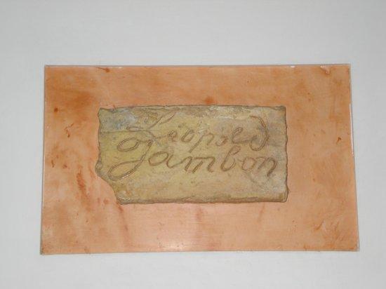 Hagetmau, Франция: Plaque début XIXe