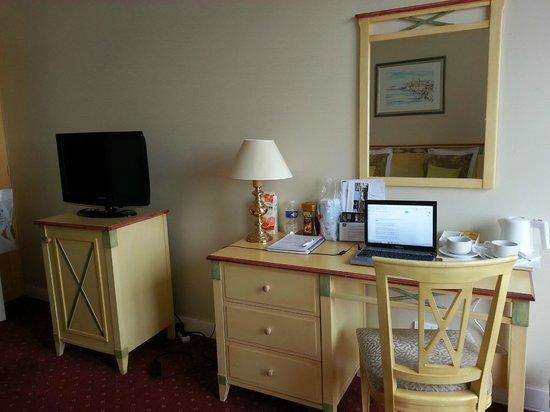 Hotel Le Grand Pavois: Моя рабочая зона