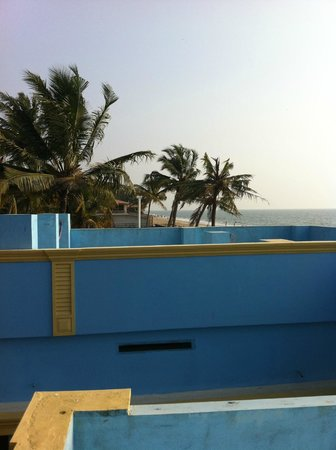 Panioty's Villa: view from the terrace