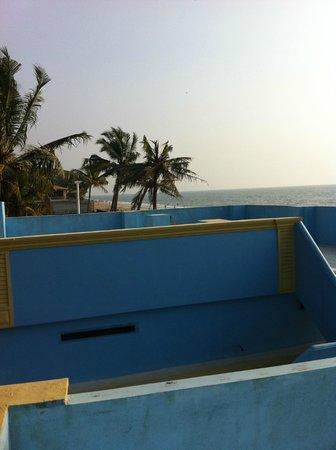 Panioty's Villa: beachview