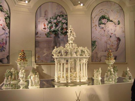 MEISSEN Porcelain Manufactory: В музее Мейсенской мануфактуры