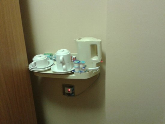 Comfort Inn Buckingham Palace Road: Kaffee, Tee