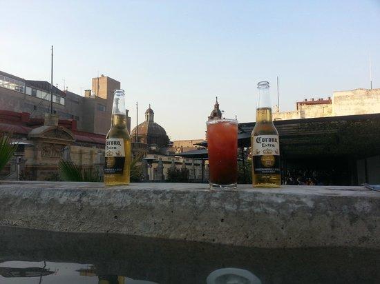Downtown Beds: Vista desde el  jacuzzi
