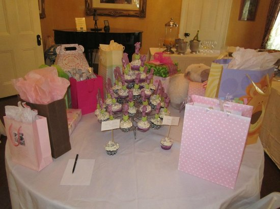 Degas House: Baby Shower in Parlor