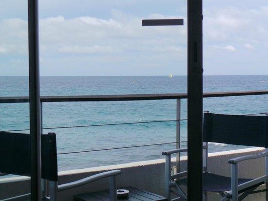 NH Marseille Palm Beach : Balcony