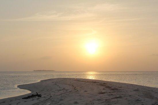 Kuri Inn: tramonto