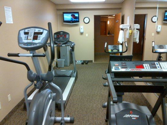 Franklin Suite Hotel: Fitness Room