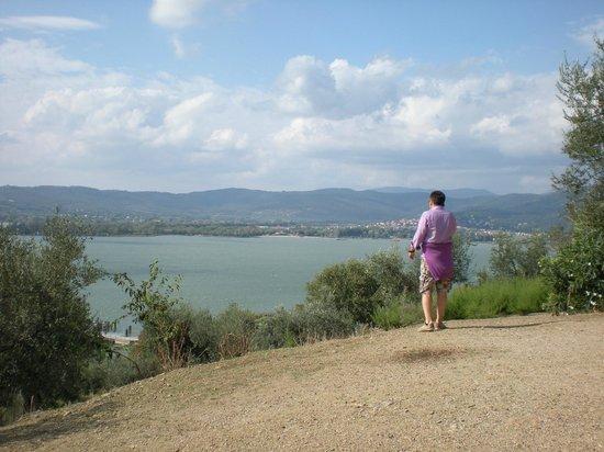 Lake Trasimeno: Il lago dall'isola Polvese