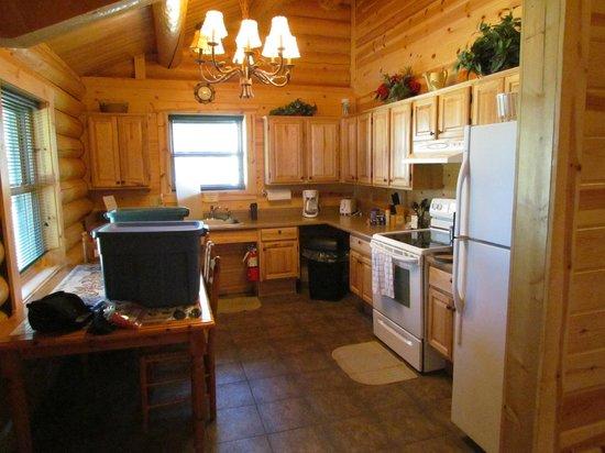 Mueller State Park: A great kitchen