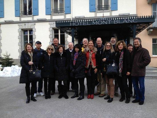 Hotel Mont-Blanc: American ski group