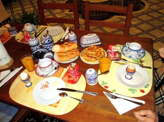 Dar Drissi: Breakfast