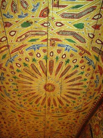 Dar Drissi: Hotel Hall Ceiling