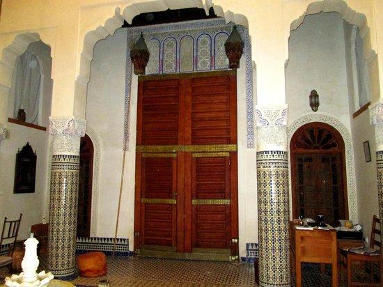 Dar Drissi: Door to our room