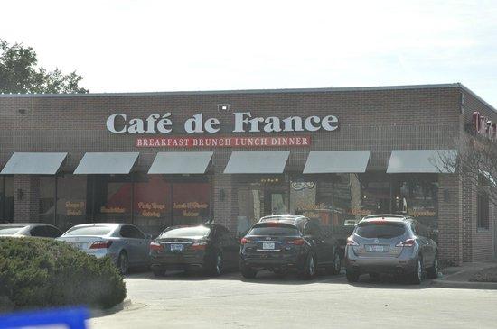 Cafe de France Restaurant: Outside Cafe de France
