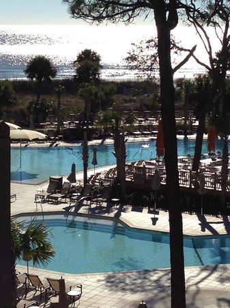 Omni Hilton Head Oceanfront Resort : Beachfront