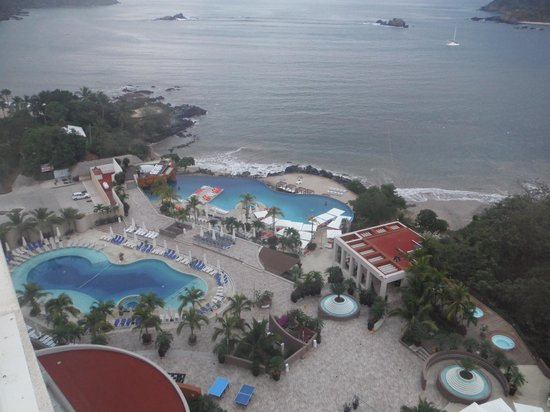 Azul Ixtapa Grand Spa & Convention Center: view from room