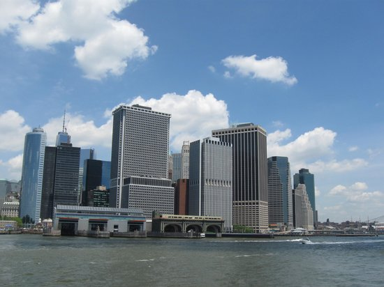 Governors Island National Monument : Another view from the ferry