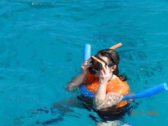 Heavenly Days Catamaran: Snorkling with sea turtles