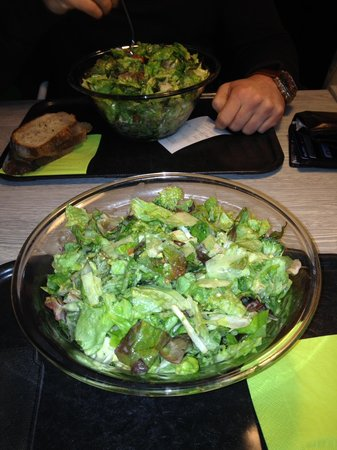 Escasano - Salad Experts: Salatschüssel