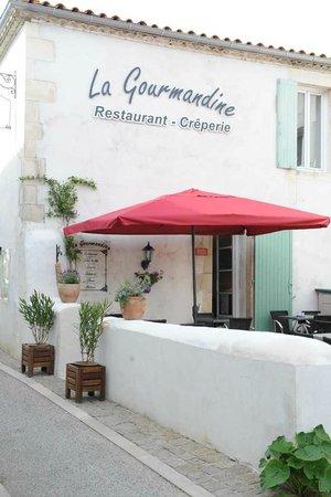 La Gourmandine : l'extérieur