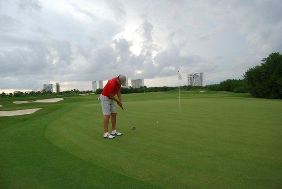 Puerto Cancun Golf Course: PUERTO CANCUN GREEN